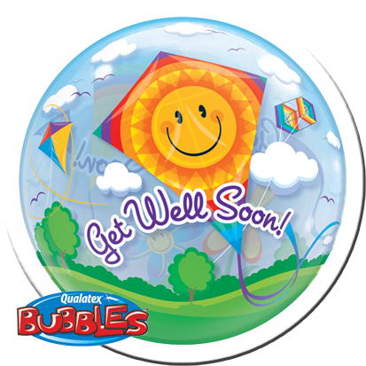 Bubble get well Drache