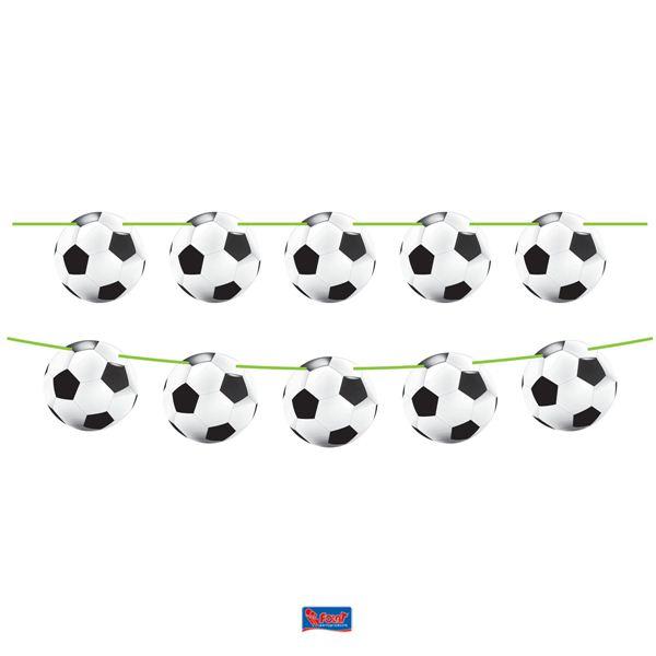 Girlande Fussball Soccer Deko Geburtstag Junge