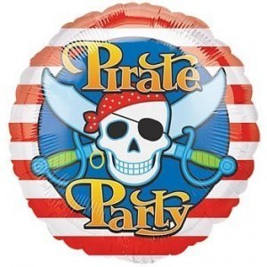 Piratenparty - Leerballon