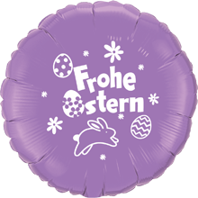 Frohe Ostern lavendel